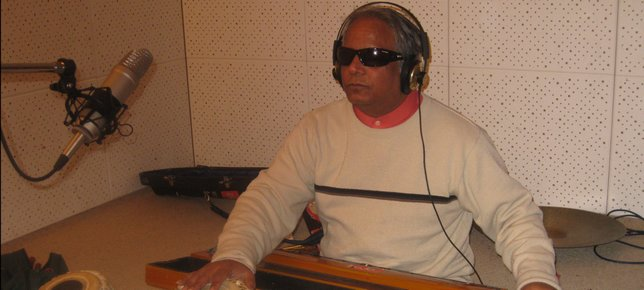 Baluji in Recording Studio